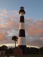 Cape Canaveral Lighthouse has been a prominent site for mariners and people since 1848. You can visit ir on your own or as part of a tour.